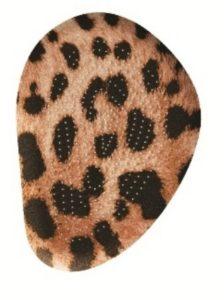 Гелевая полустелька с покрытием из замшевого текстиля TGEL 2202?7