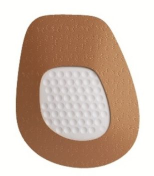 Массажная полустелька из натуральной кожи на латексной основе LATX 2503